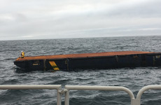 It escaped Labrador: Mayo lifeboat crew in 7-hour callout to secure steel barge from Canada