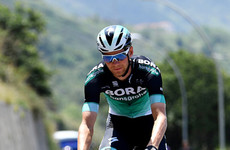 Ireland's Sam Bennett sprints to impressive third place finish at stage 10 of the Giro d'Italia