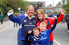 Fans react as Leinster just keep their double dream alive