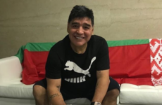 Pen to paper! Diego Maradona has a new job in Belarus