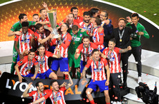 Double from clinical Griezmann hands Atletico Madrid the Europa League