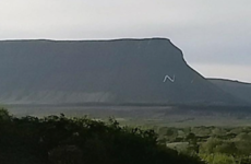 People have been having fun with the giant No sign erected on a mountain in Sligo