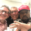 YouTube boss Lyor Cohen didn't know his selfie with Kanye West in the MAGA hat would end up on social media