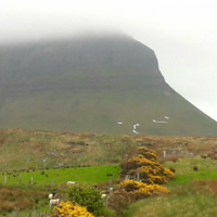Pro-life group says the 'No' on Ben Bulben was 'vandalised' and removed