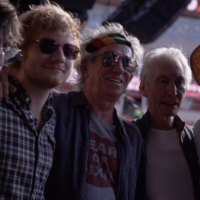 Ed Sheeran and Mick Jagger went for lunch together in Dublin... it's The Dredge