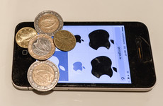 Apple has paid around €1.5 billion into an Irish escrow account