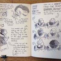 12 scenes from life as a Dublin Bus commuter, sketched by illustrator Sarah Bowie