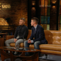 Viewers admired the courage of the two transgender men who appeared on The Late Late Show