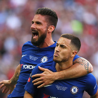 Chelsea claim FA Cup at Wembley thanks to decisive Hazard penalty