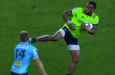 Nabura dismissed for nasty head-kick as Waratahs end Australia's 40-game NZ hoodoo