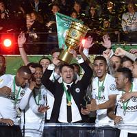 Eintracht Frankfurt stun champions Bayern Munich to claim first German cup since 1988