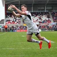 Two-try Gilroy helps Ulster see off Ospreys to take place in Champions Cup