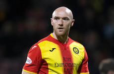 Ireland striker Sammon misses late play-off penalty as club relegated from Scottish top-flight