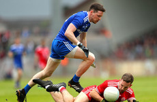Harte sent-off as Monaghan end Tyrone's three-in-a-row dreams in Ulster