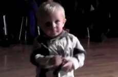 Watch: Two-year-old's Elvis impersonation becomes viral hit