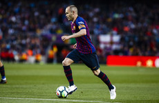 Stunner from Coutinho lights up Iniesta's Barca farewell match