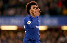 Willian to leave Chelsea for Manchester United if Conte stays - reports