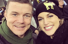 Amy Huberman won't do Dancing With The Stars with husband Brian, FYI ... it's the Dredge
