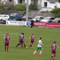 Watch: Cabinteely score utterly bizarre goal against Galway United