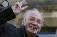 New Bradford West MP Galloway hails election win... in Blackburn