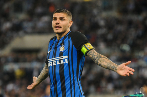 There's no room for Icardi in the squad.