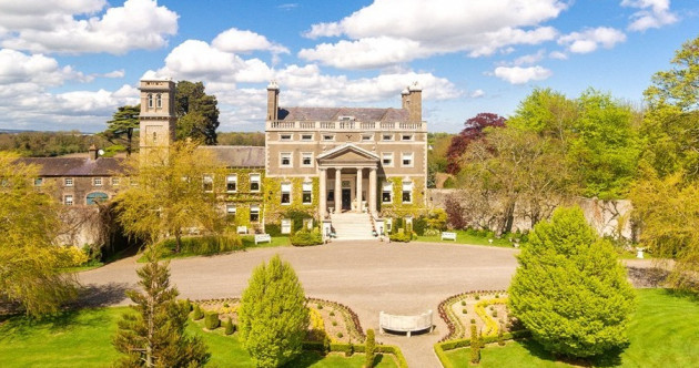 Live like a royal in this €10m Dublin mansion with its own clock tower