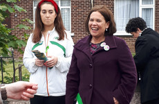 'G'wan Mary Lou!' - Sinn Féin's leader is a hit on the canvass but insists it's no election dry run