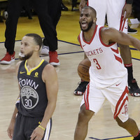 Houston makes it a series as Warriors 'run out of gas'