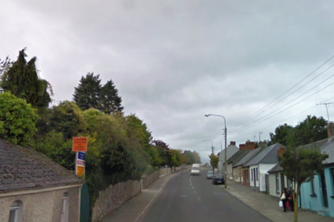 The Heywood Road in Clonmel, the area close to where the incident occurred.