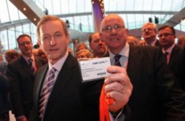 As it happened: Enda Kenny's speech to the Fine Gael Árd Fheis