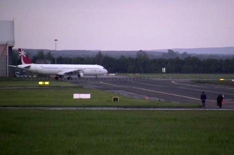 Flight at Shannon Airport