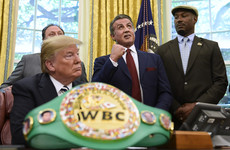 Trump pardons boxing's first black heavyweight champion after Stallone's appeals
