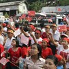 Aung San Suu Kyi claims victory in Burmese by-election