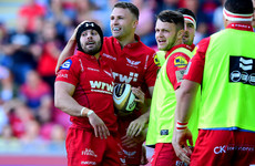 Halfpenny returns and Beirne moves to number eight as Scarlets name team for Leinster