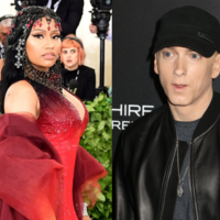 Nicki Minaj just told a fan on Instagram that she's dating Eminem