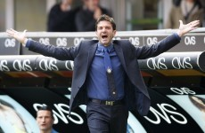 Welcome to the big-time! Stramaccioni debuts in nine-goal thriller