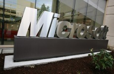 Microsoft profits from record first-quarter sales