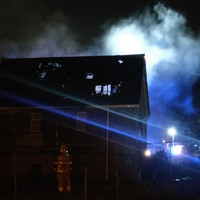 Multiple fire engines called to blaze overnight at derelict building on Dublin's northside