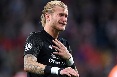 Karius made two costly errors during last night's final in Kiev.
