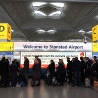 Passengers left stranded at Stansted Airport over lightning strikes