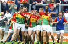 Incredible scenes as Carlow record first Leinster SFC victory over Kildare since 1953
