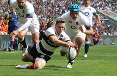 Ashton runs riot as Lam's Barbarians maul England at Twickenham
