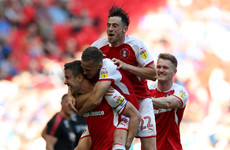 Wembley joy for Irish duo as Rotherham gain promotion to the Championship