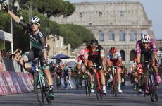Ireland's Sam Bennett wins final stage of Giro d'Italia in thrilling sprint finish