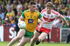 Patrick McBrearty inspires Donegal to win over Derry