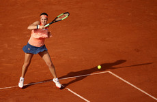 Defending champion crashes out of French Open on opening day at Roland Garros