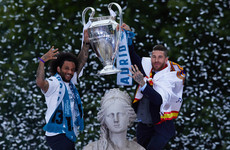 Real Madrid parade Champions League trophy in front of thousands of ecstatic fans