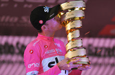 'I can't quite believe it myself': Froome stunned by Giro triumph