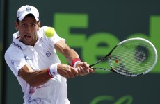 Djokovic king at Key Biscayne