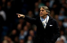 Title race could be over by next week, says Mancini